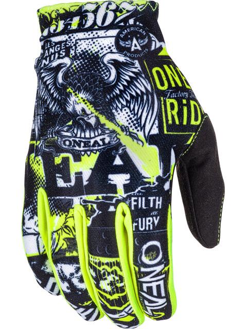 ONeal Matrix Gloves ATTACK black/hi-viz